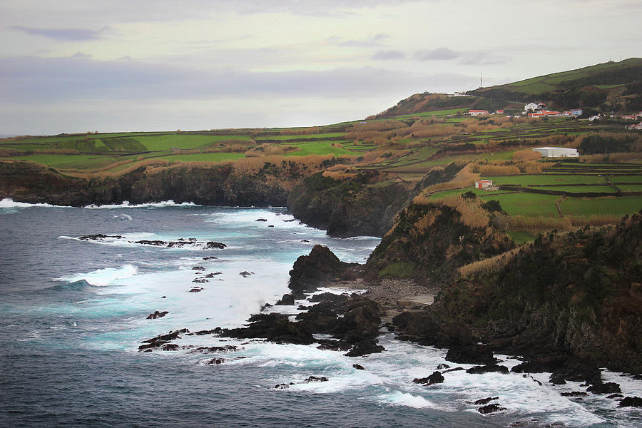 Terceira Coastline by Kelly Hazel