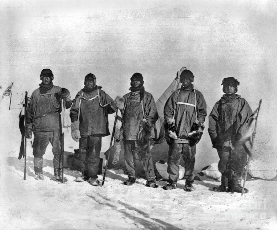 1912 Painting - Terra Nova Expedition by Granger