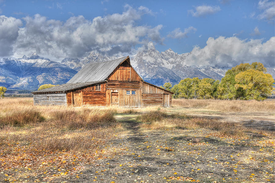 Teton Barn by David Armstrong