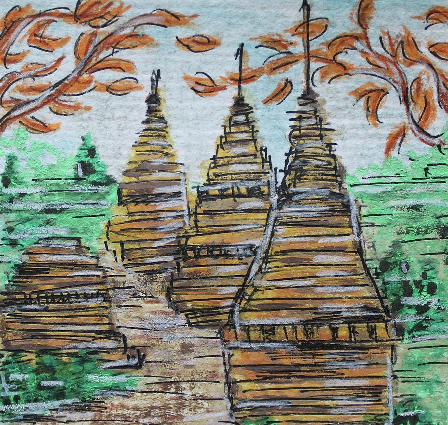 Watercolor Painting - Thailand by Art By Naturallic