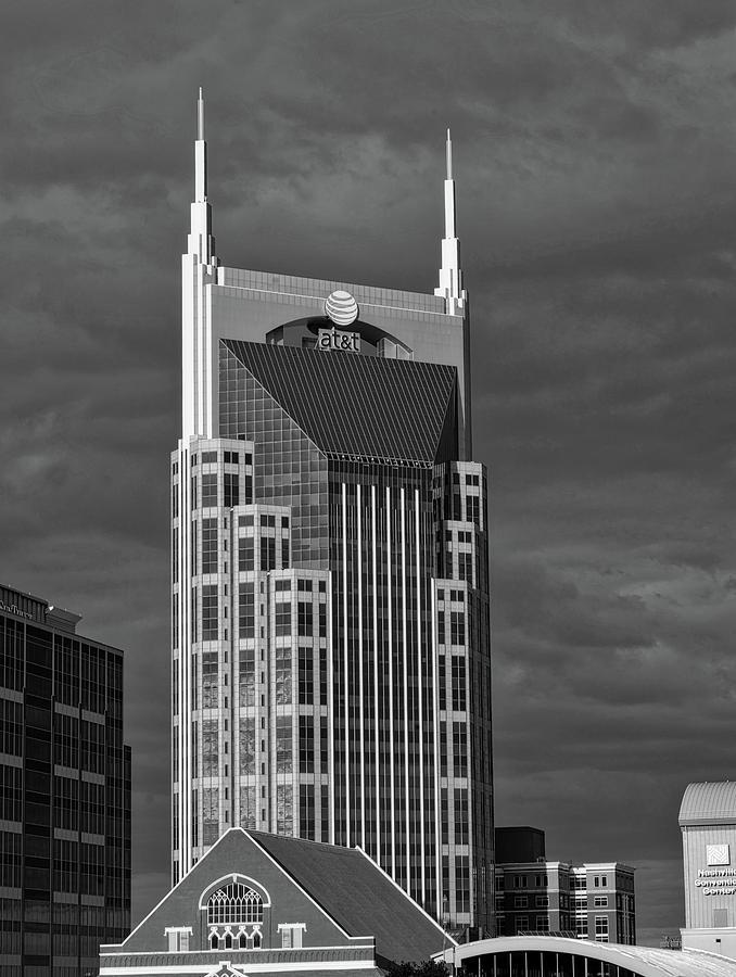 Nashville Photograph - The Batman Building - Nashville by Mountain Dreams