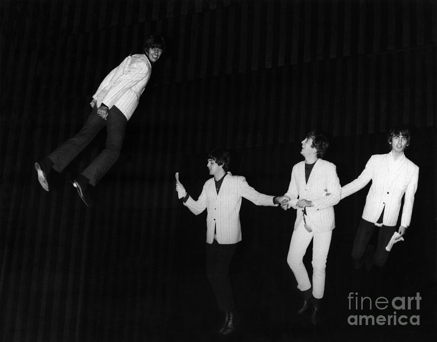1964 Photograph - The Beatles, 1964 by Granger
