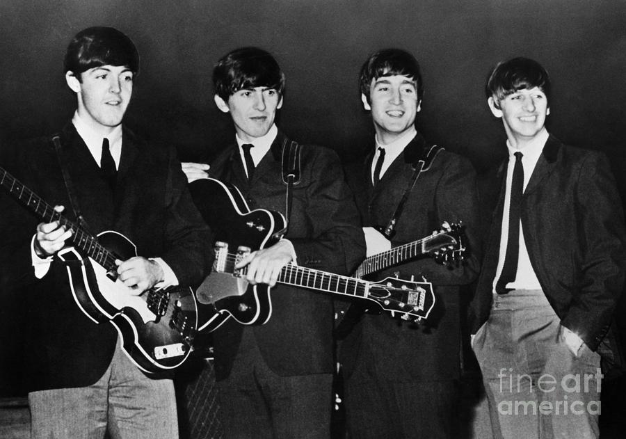 1960s Photograph - The Beatles by Granger