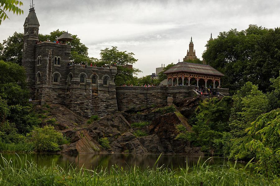Landscape Photograph - The Belvedere Castle by M Nuri Shakoor