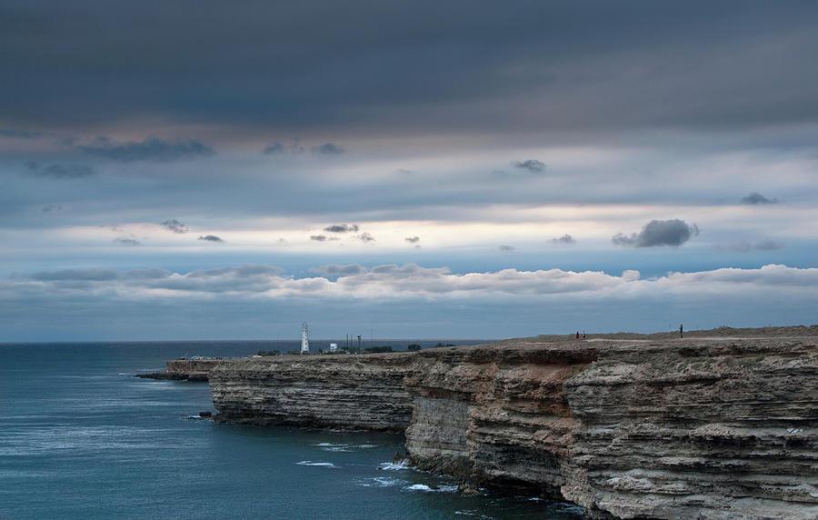 Crimea Photograph - The Black Sea Crimea by Anastasya Kondratyk