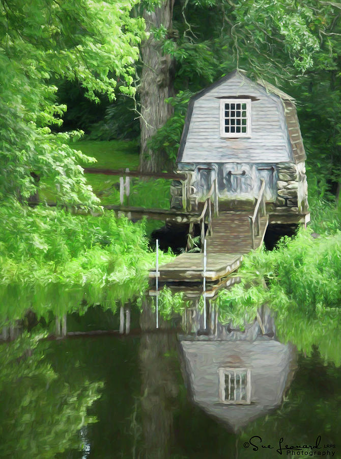 Painted effect - Boathouse by Susan Leonard