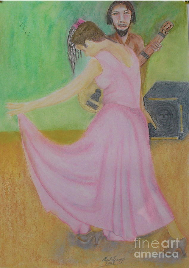 Girl Pastel - The Bow by Neil Trapp