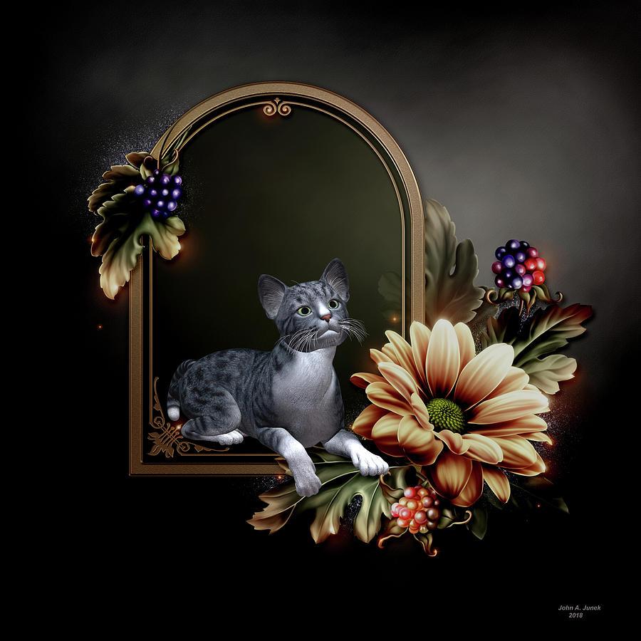 The Cat by John Junek