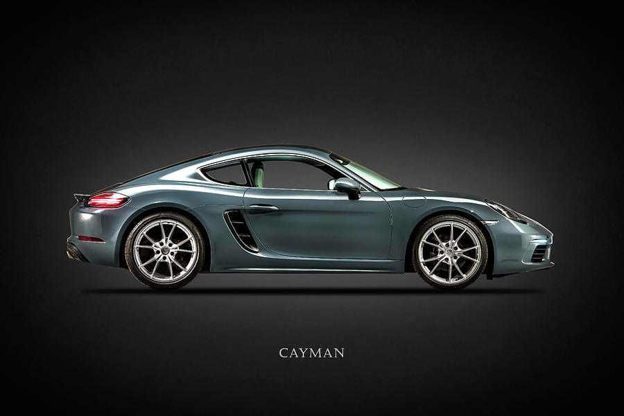 Porsche Cayman Photograph - The Cayman by Mark Rogan
