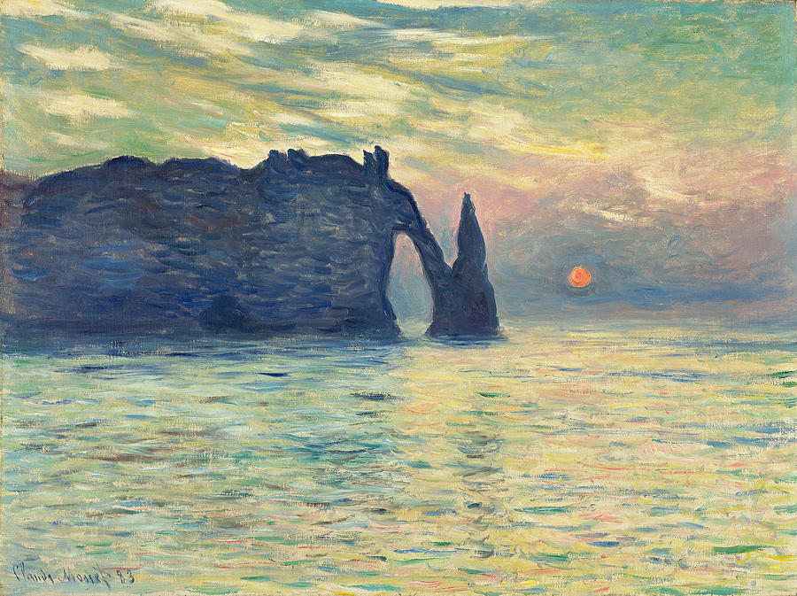 Image result for monet paintings sunsets