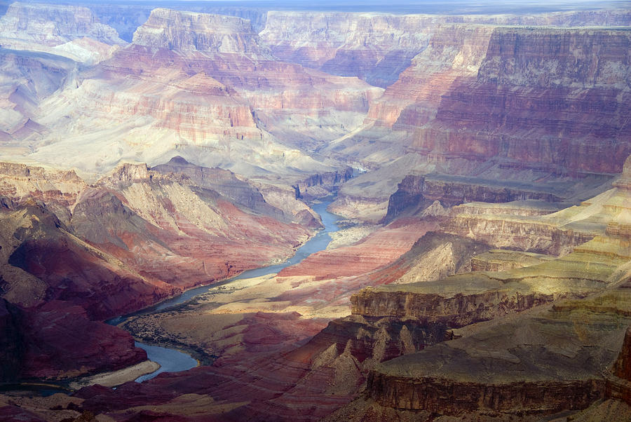 Color Image Photograph - The Colorado River And The Grand Canyon by Annie Griffiths