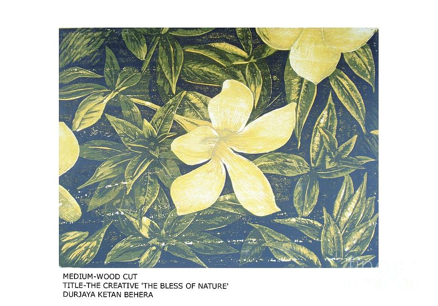 The Creative The Bless Of Nature Painting by Durjaya ketan Behera