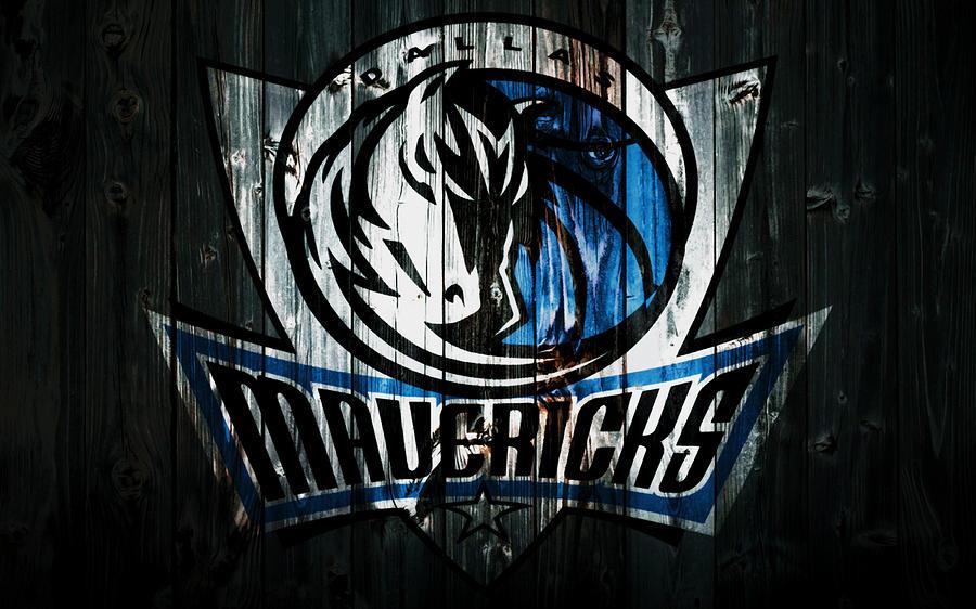 Dallas Mavericks Mixed Media - The Dallas Mavericks 2b by Brian Reaves
