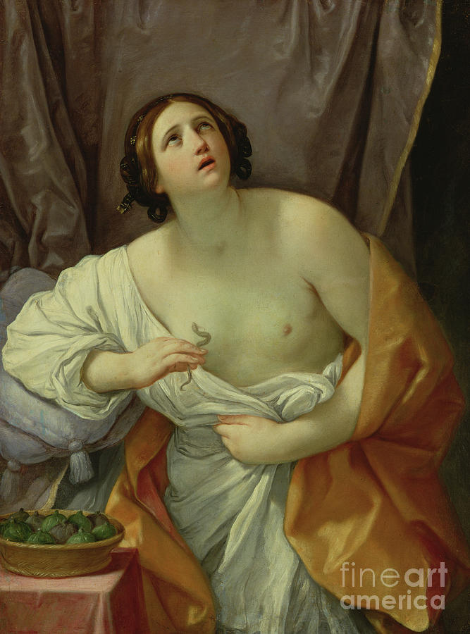 The Death Of Cleopatra Painting - The Death Of Cleopatra by Guido Reni