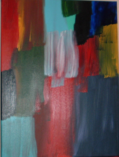 Abstract Painting - The Eruption by Lon Cerame