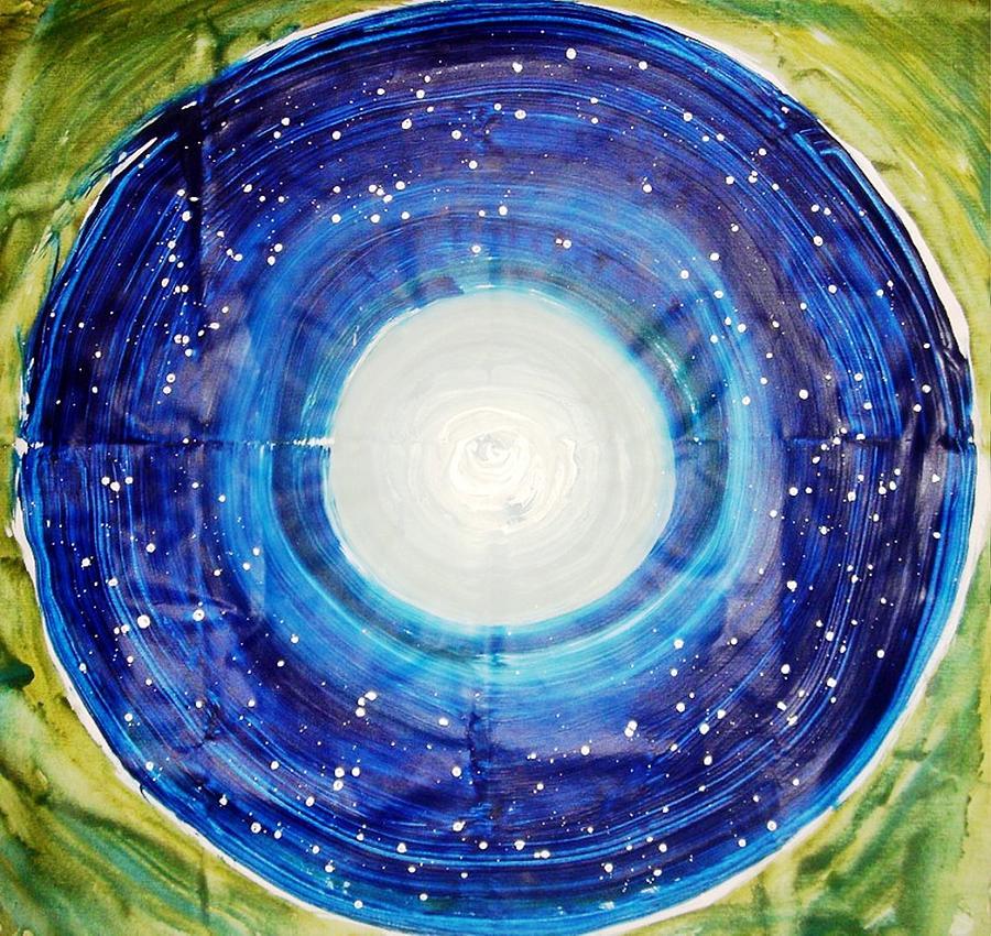 The Eternal Circle Painting by Baljit Chadha