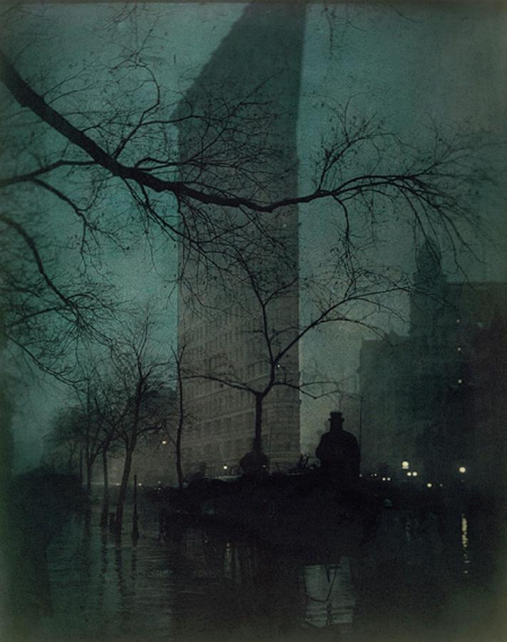 The Flatiron Building by Edward Steichen