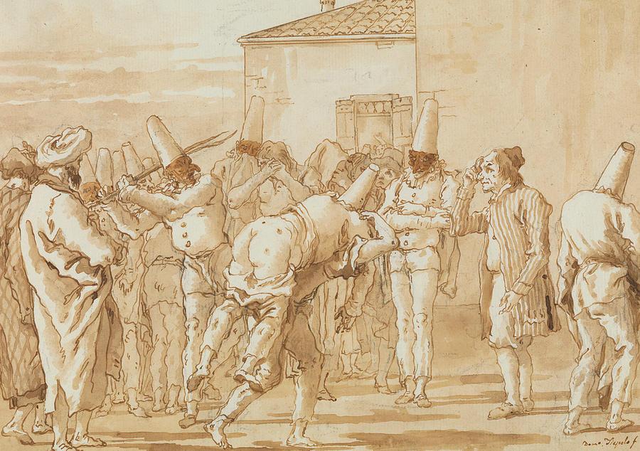 ddistance - Page 5 1-the-flogging-of-punchinello-giovanni-domenico-tiepolo