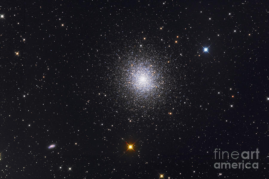 M13 Photograph - The Great Globular Cluster In Hercules by Roth Ritter