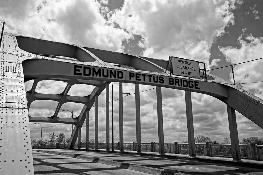 Selma Photograph - The Historic Edmund Pettus Bridge - Selma Alabama by Mountain Dreams