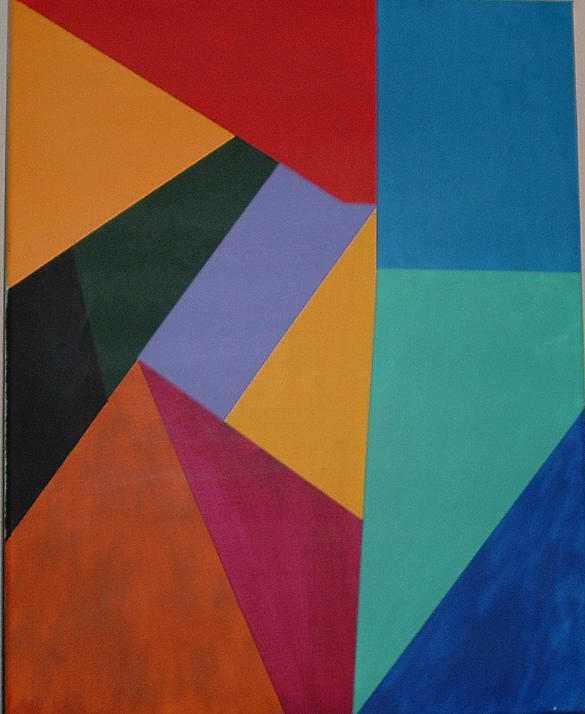 Abstract Painting - The Kings Court by Lon Cerame