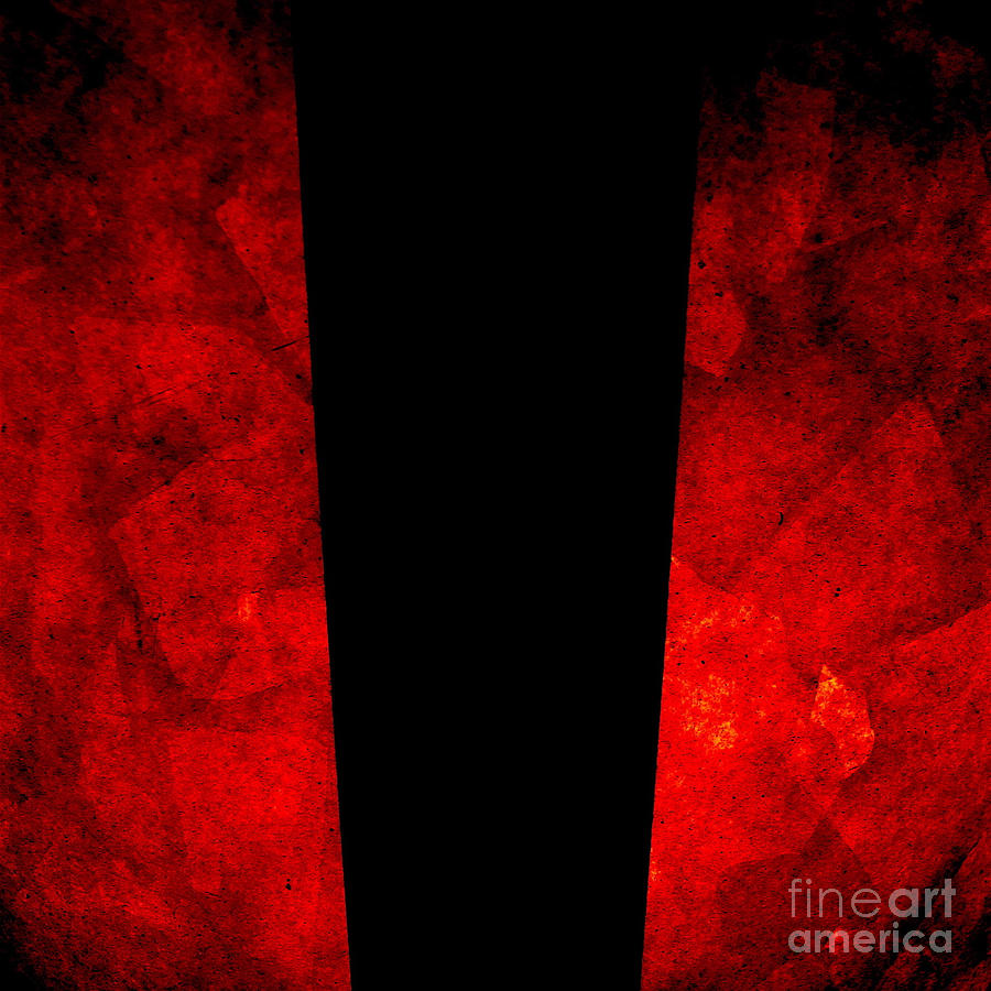 Abstract Photograph - The Lamp by CML Brown