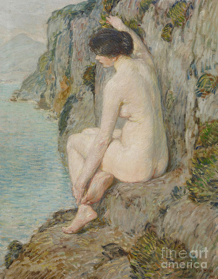 Childe Painting - The Lorelei by Childe Hassam