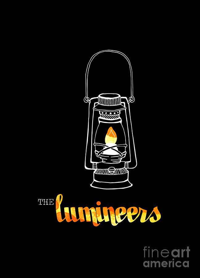The Lumineers Digital Art By Rita Ozon