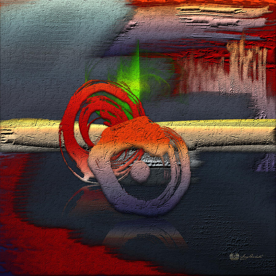 Abstract Photograph - The Night is Young by Serge Averbukh