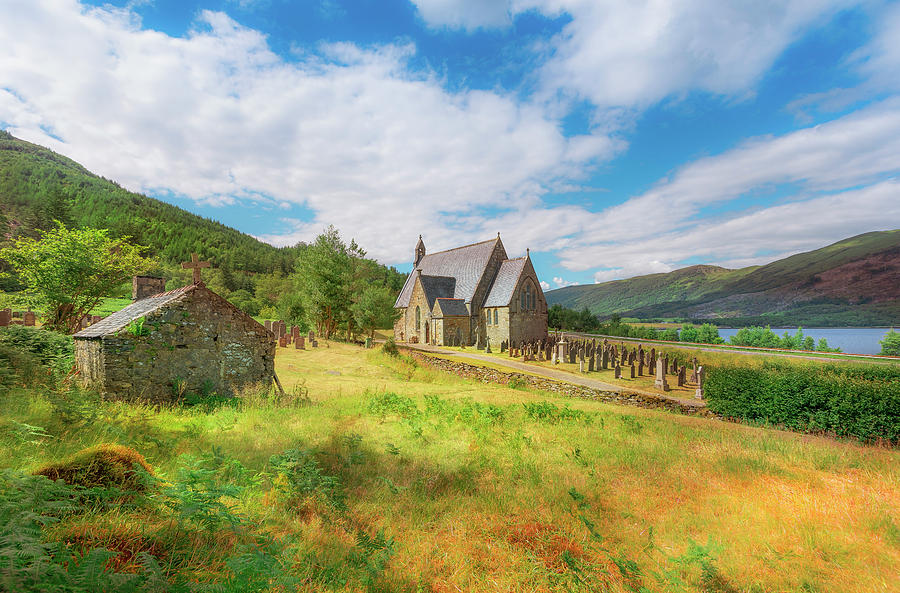 Highlands Photograph - The Old Highland Church by Roy McPeak