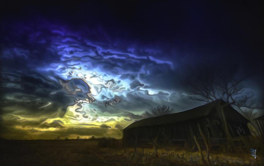 Art Digital Art - The Power Of A Storm In Formation by  Fli Art