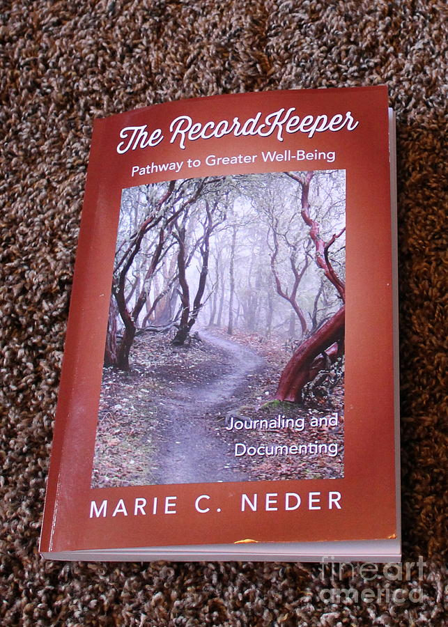 Book Photograph - The Recordkeeper by Marie Neder
