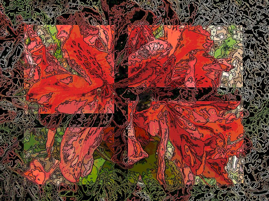 Abstract Digital Art - The Rhody 02 by Tim Allen