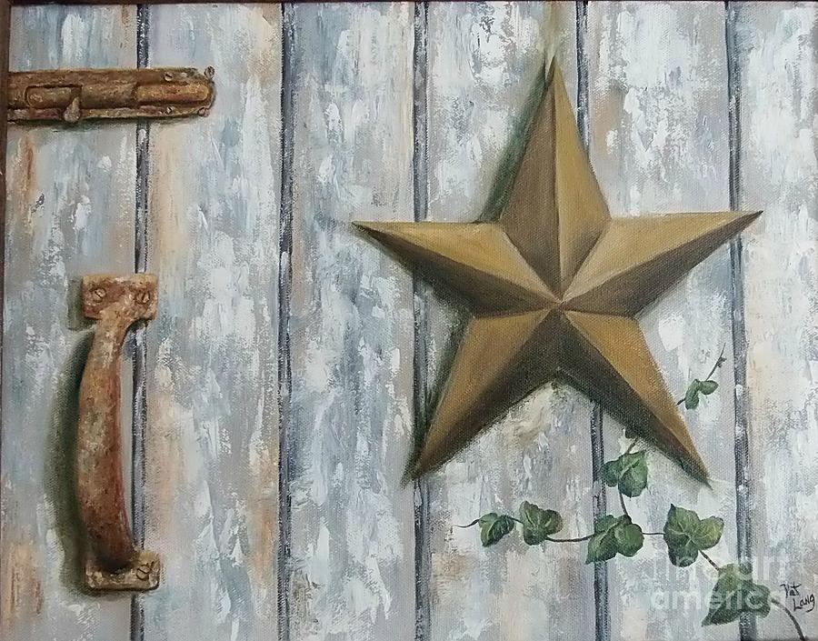Still Life Painting - The Rusty Latch by Patricia Lang