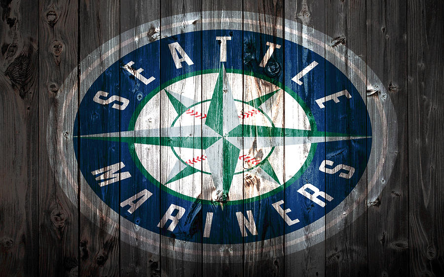 The Seattle Mariners Mixed Media - The Seattle Mariners 1a by Brian Reaves