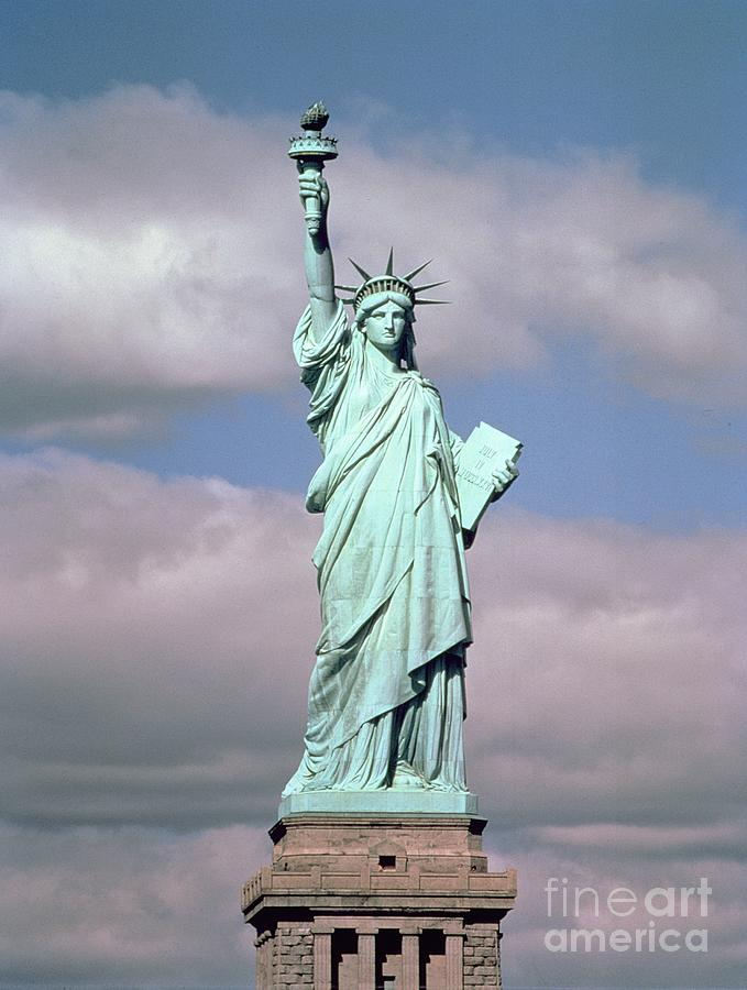 The Statue of Liberty Photograph by American School