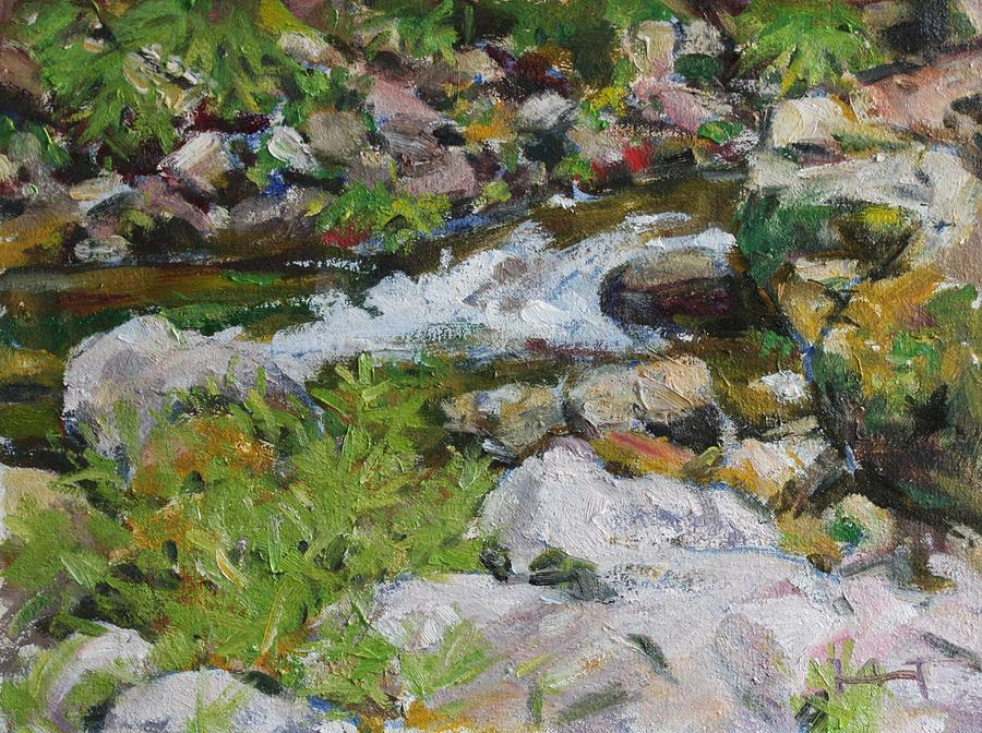 Nature Painting - The Stream by Owen Hunt