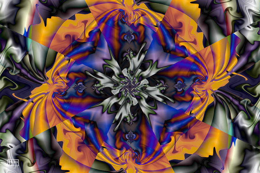 The Temptation Digital Art by Jim Pavelle