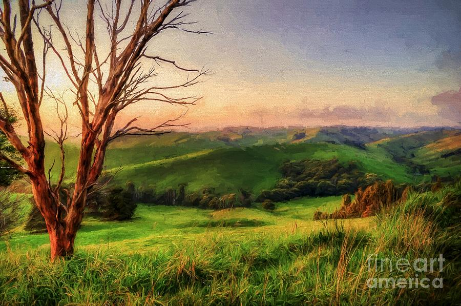 Gippsland Photograph - The Valley  Ed1 by Ray Warren