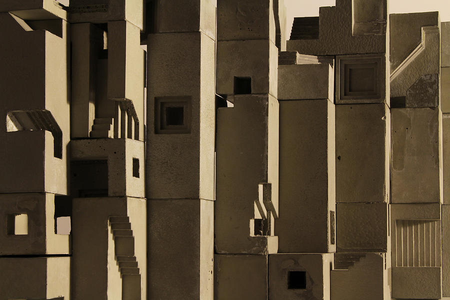 Architecture Photograph - The Wall 2 by David Umemoto