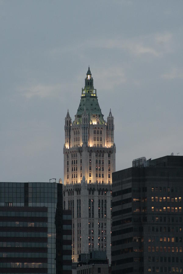 Woolworth Building Photograph - The Woolworth Building by Christopher Kirby