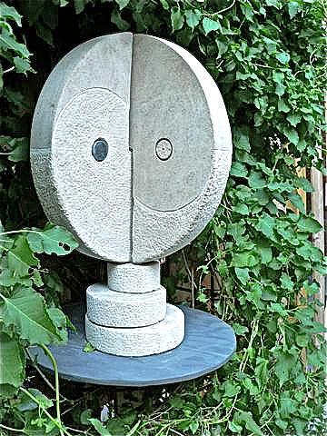 This A Detail Of The Third Chakra Sculpture - Third Chakra Manipura Solar Plexus by Frank Pasquill