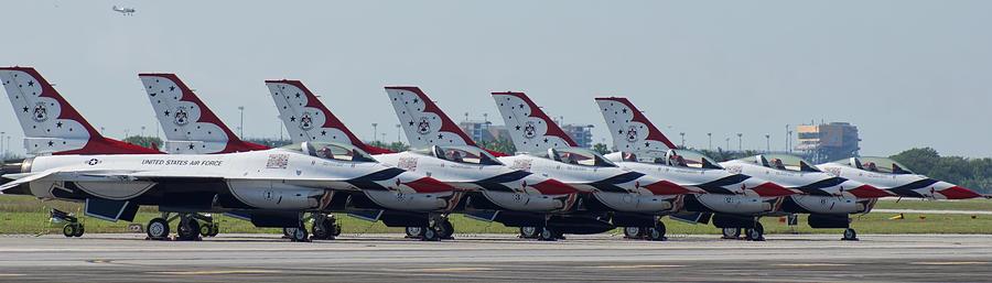 Thunderbirds Photograph - Thunderbirds by Dieter Lesche