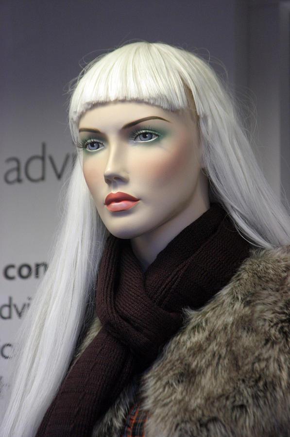 Mannequin Photograph - Tina by Jez C Self