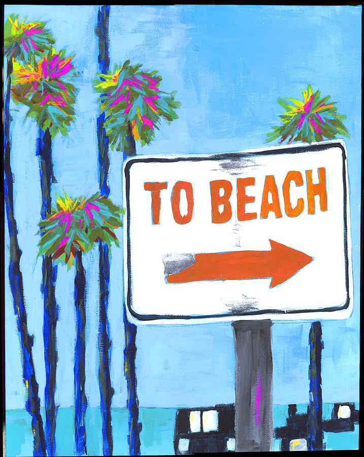 To The Beach by Debbie Brown