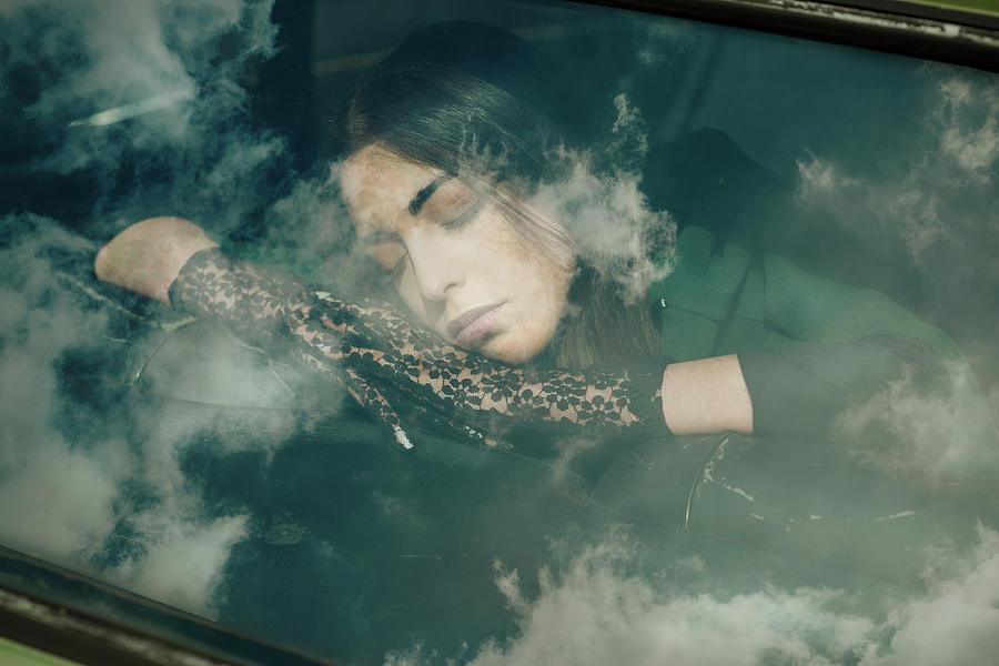 Portrait Photograph - To the forest by Francesca Ciavarella