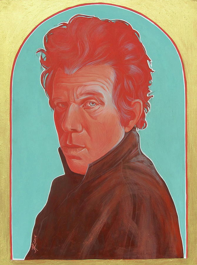 Tom Waits Painting - Tom Waits by Jovana Kolic