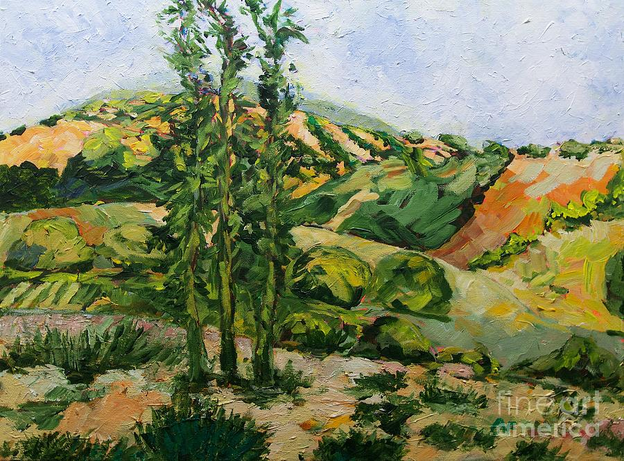 Top Of The Hill Painting