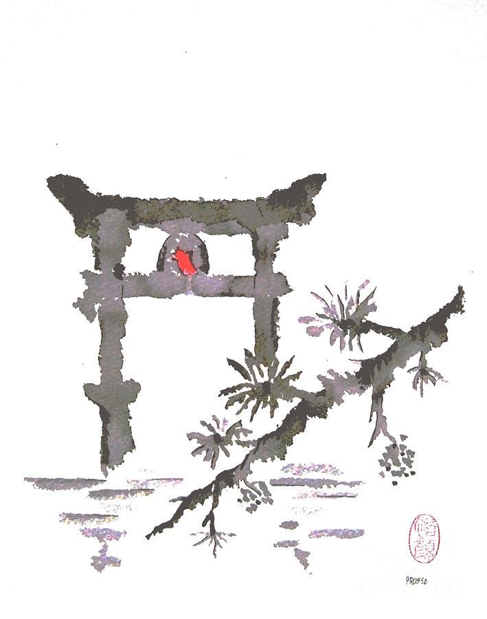 Torii Gate 2 Painting