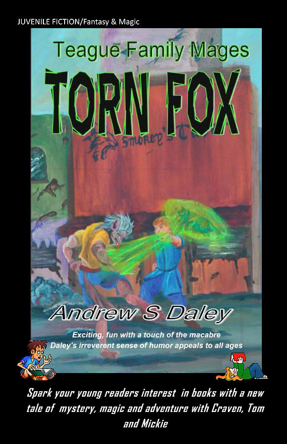 Book Cover Painting - Torn Fox by Gail Daley